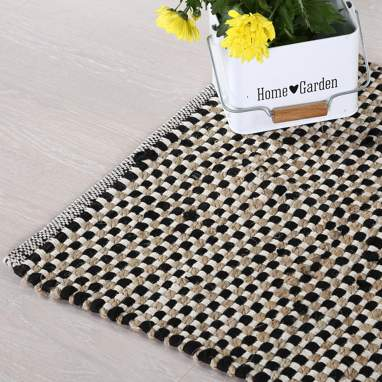 Staef tapis noir 60x90