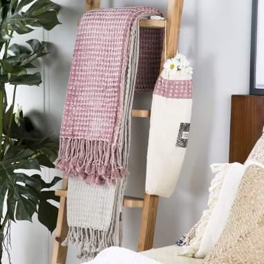 Holu asciugamano mare 100x180 rosa