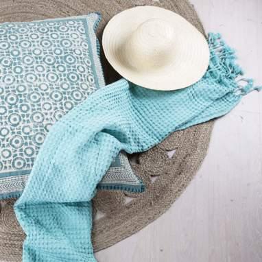 Holu asciugamano mare 100x180 verde