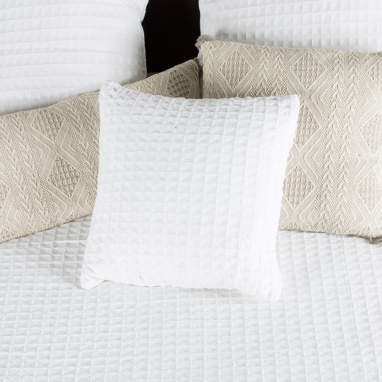 Tyel coussin 45x45 blanc
