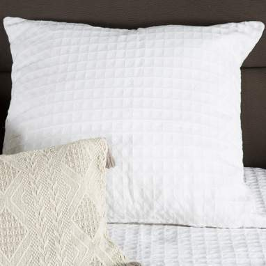 Tyel coussin 60x60 blanc