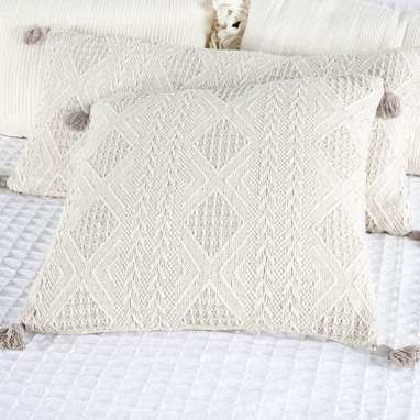 Xika coussin 45x45 gris