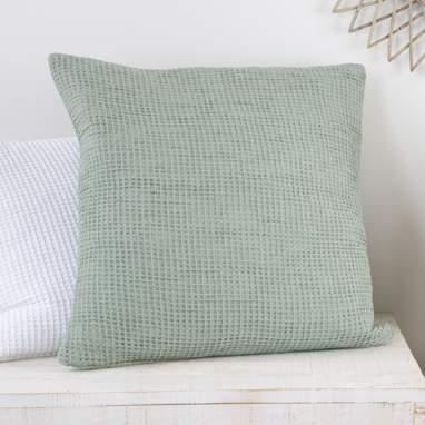 Trela cuscino verde chiaro 60x60