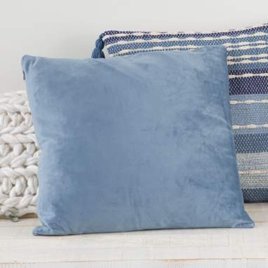 Nebay blue cushion 45x45