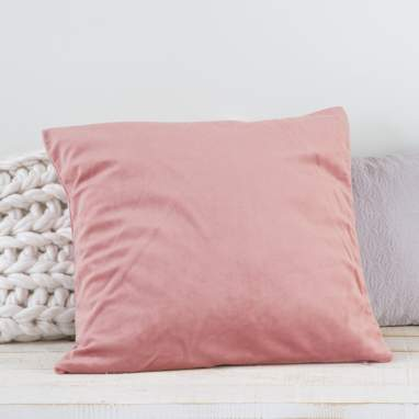 Nebay pink cushion 45x45