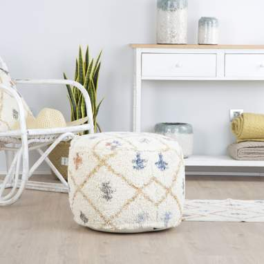 Topin pouf multicolore
