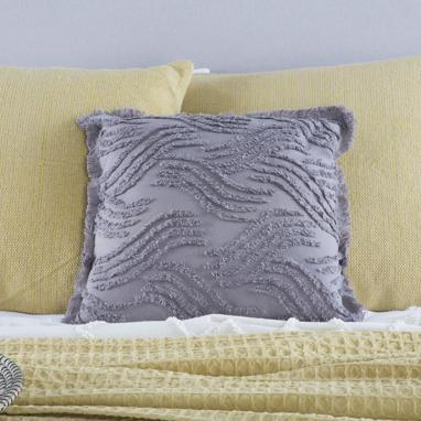 Lyse dark grey cushion
