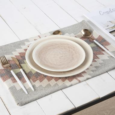 Cheku grey tablecloth