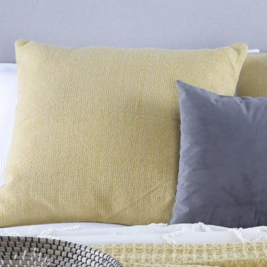 Tany mustard cushion