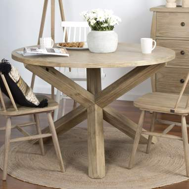 Carot wood table 120d hazel