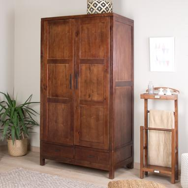 Sawan wardrobe 2 removable doors  teak