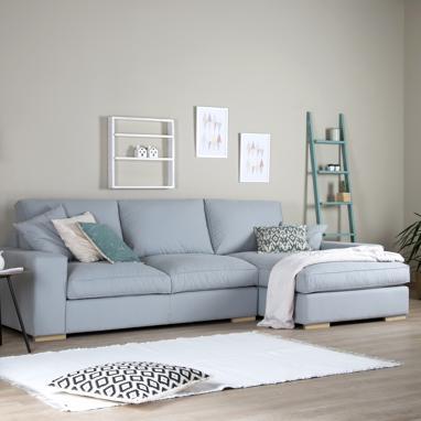 Akil sofá 3 tecido