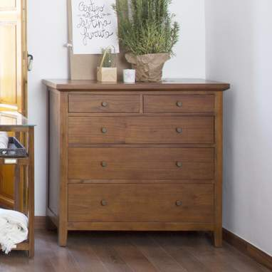 Afrikaan chest of drawers