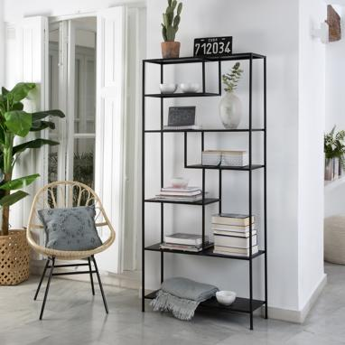 Oslo black shelf