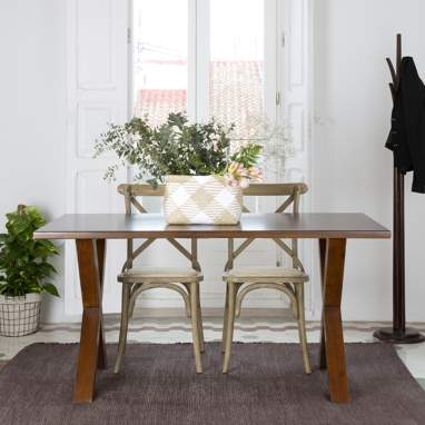 Gauss teak table