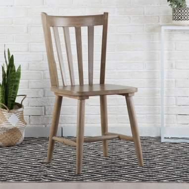 Boho chaise noisette