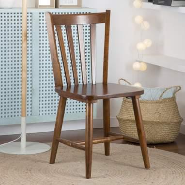 Boho teak chair