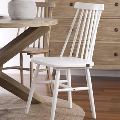 Kampala chaise blanche