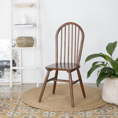 Country teak chair