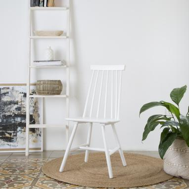 Cloe white chair