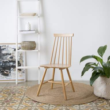Cloe chaise naturel