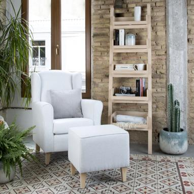 Sami pack armchair + footrest