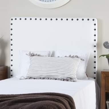 Natur tête de lit tapissé