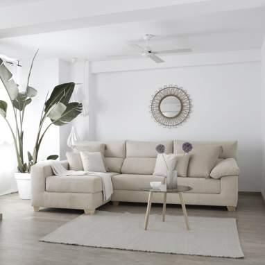 Shambala canape avec coffre tissu