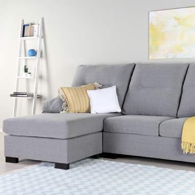 Sydney sofá reversible ecopiel