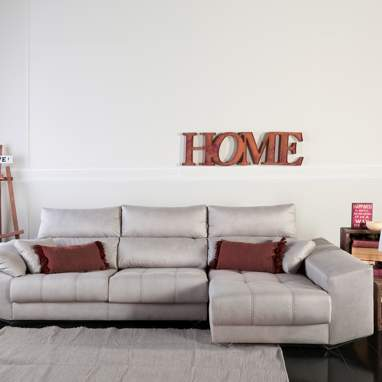 Jartum sofá c/arcón tela