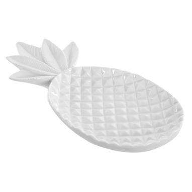 Nasy despeja-bolsos abacaxi branco
