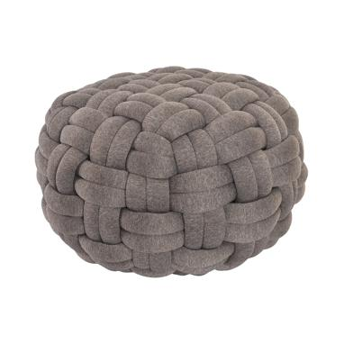 Ovil brown pouf