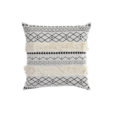 Lies cuscino bianco-grigio