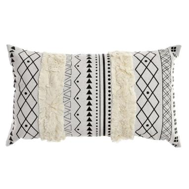 Dees white/grey cushion