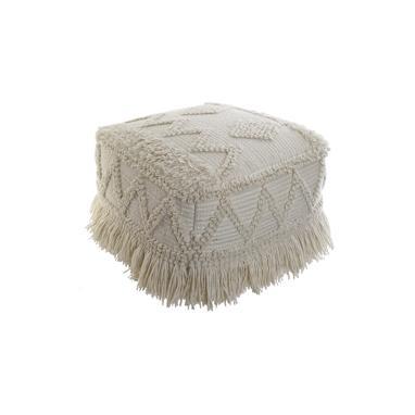 Deru fringes floor cushion