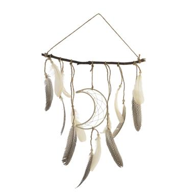 Csia wooden plumes hanging decoration