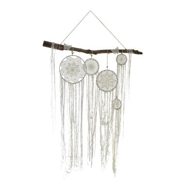 Cvesa wood polyester dreamcatcher