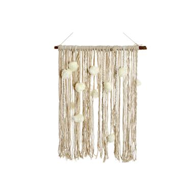 Koti polyester pompom hanging decoration