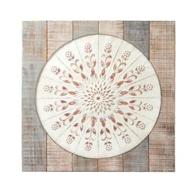 Sail decape metal wooden mural