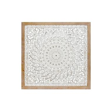 Kasi wooden metal wall decoration mandala