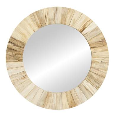 Eiol natural wood mirror