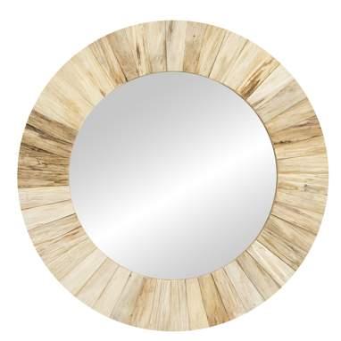 Eiol miroir bois naturel