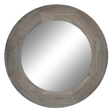 Mou miroir naturel marron