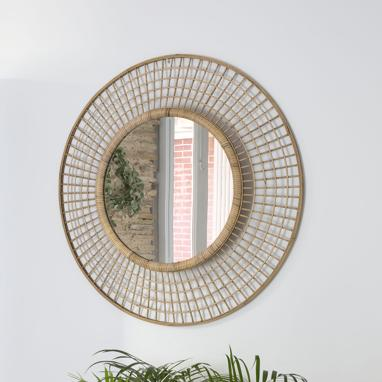 Vavi natural bamboo mirror