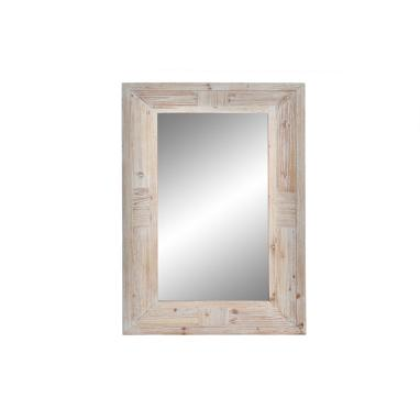 Vazky natural wood mirror