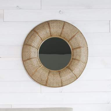 Roda brown natural mirror