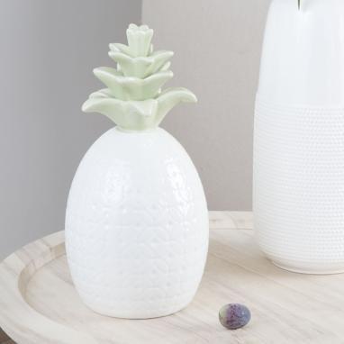 Arug figurine porcelaine ananas 2 surt.