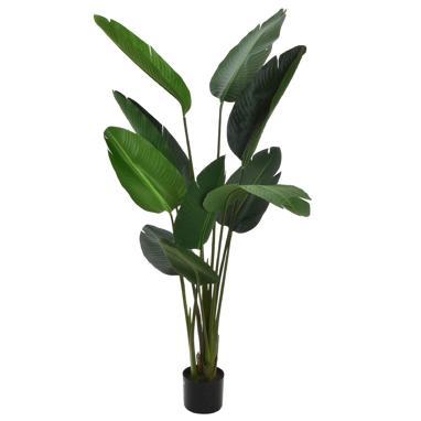 Ewa green leaf pvc plant