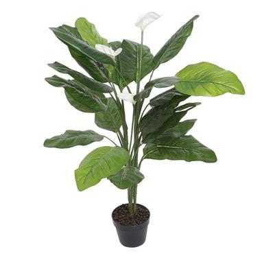 Ponia pianta pvc verde