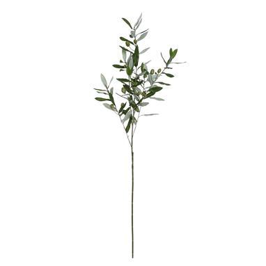 Kaler polyester olive green branch